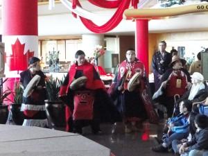 Opening Haida Drummers