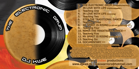 ELECTRONIC DRUM CD