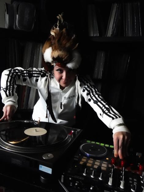 Crystal Favel aka DJ Kwe