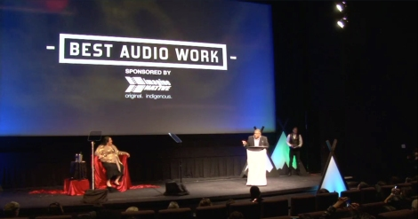 Crystal DJ Kwe Favel Wins Best Audio Work at ImagineNATIVE 2015